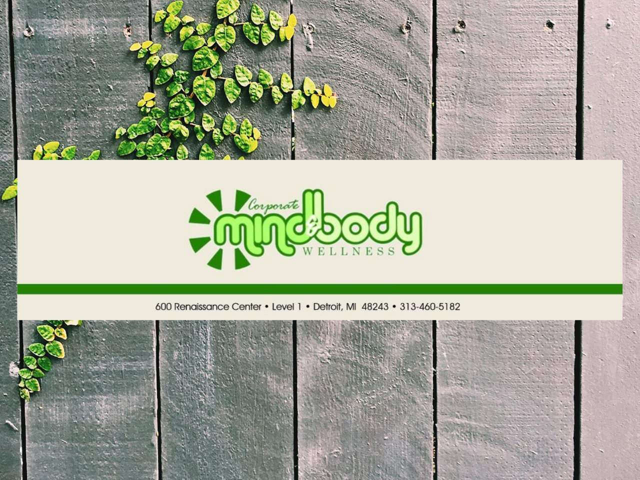 Corporate Mind and Body Spa