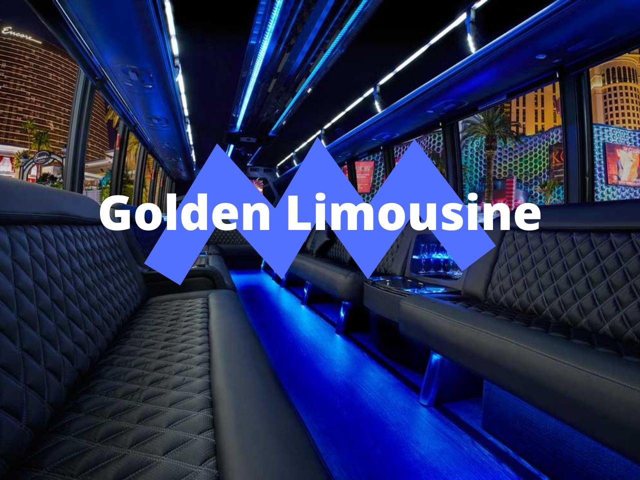 Golden Limousine